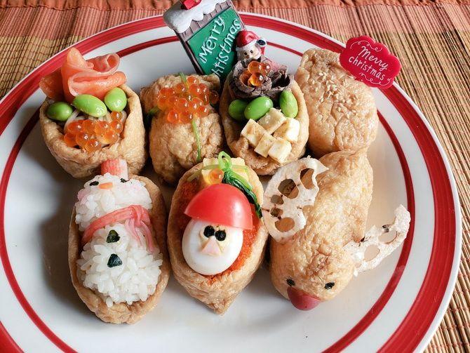 украшение новогодних закусок для детей