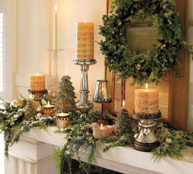 Как украсить комнату на Новый год 2021: лучшие идеи новогоднего декора 6