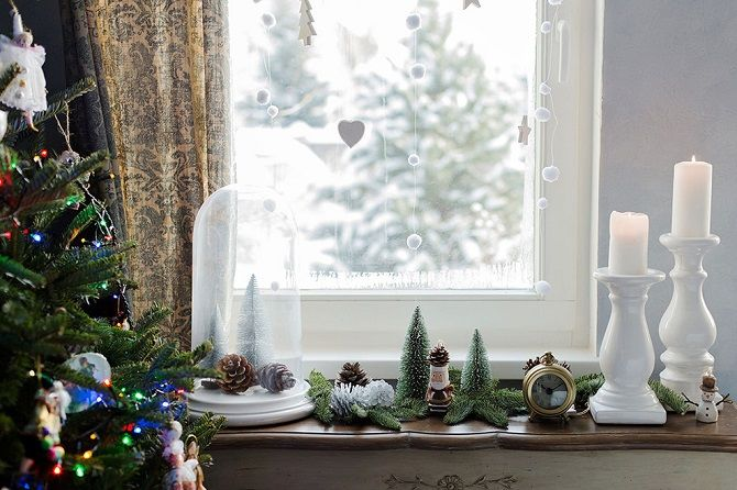 Как украсить комнату на Новый год 2021: лучшие идеи новогоднего декора 7