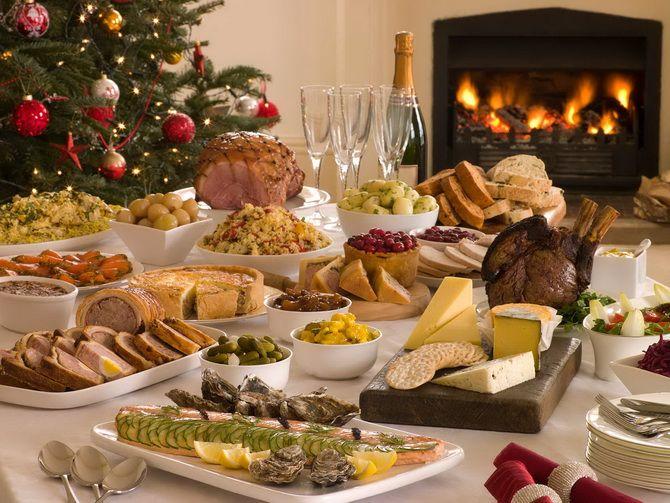 еда на новый год