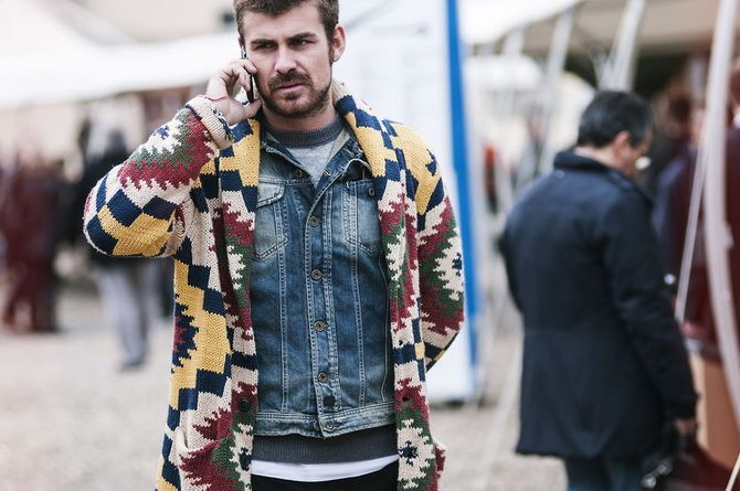 Мужские свитера с рисунком