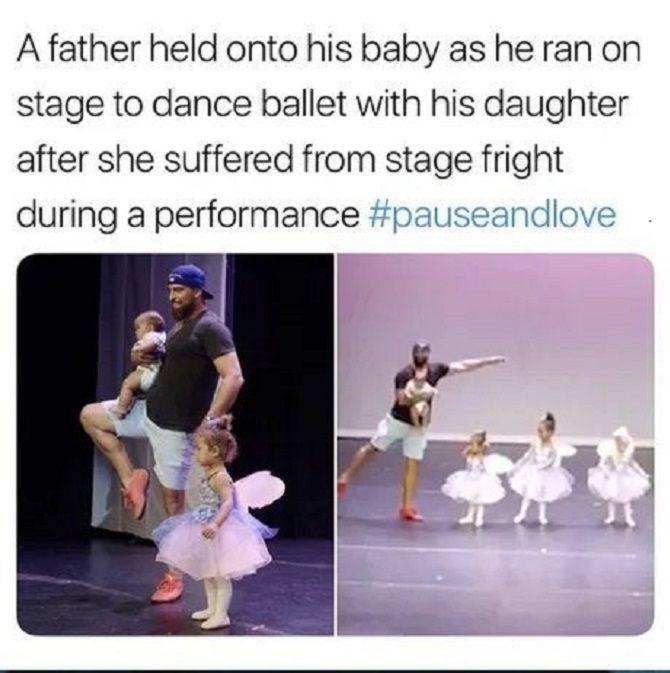 Папа и балет