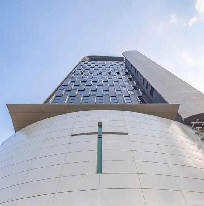вид церковь в гонконге