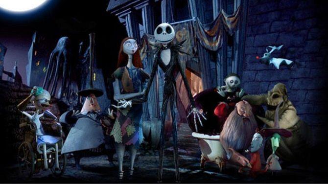 мультфільм Кошмар перед Різдвом