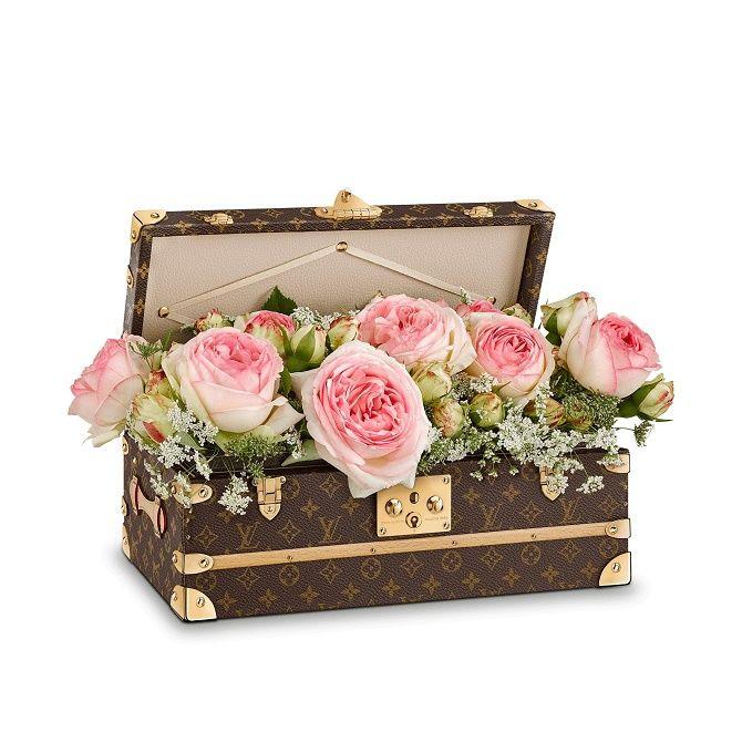 чемодан для цветов