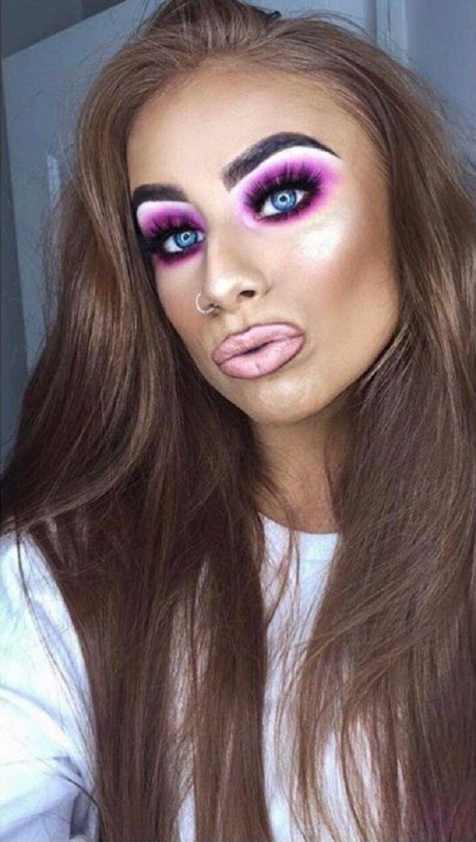 плохой макияж