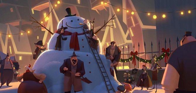 Кадр из мультфильма «Клаус» (2019)