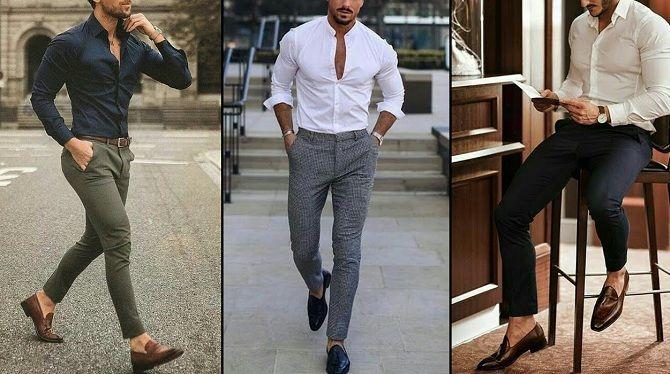 Мужские образы для встречи Нового года 2020