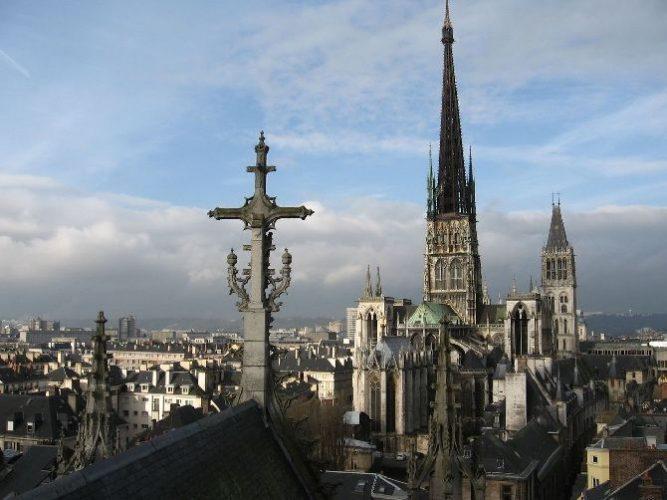 Собор Нотр-дам де Руан