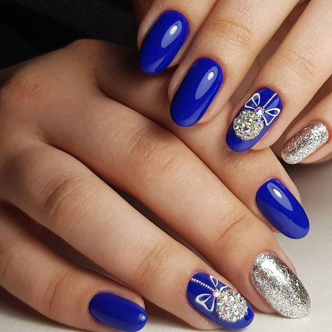 фото ногтей зимний маникюр