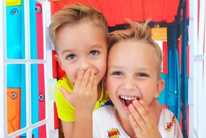 дети блогеры Vlad and Nikita