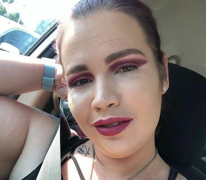 страшный макияж