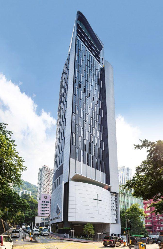 21-этажная церковь в Гонконге