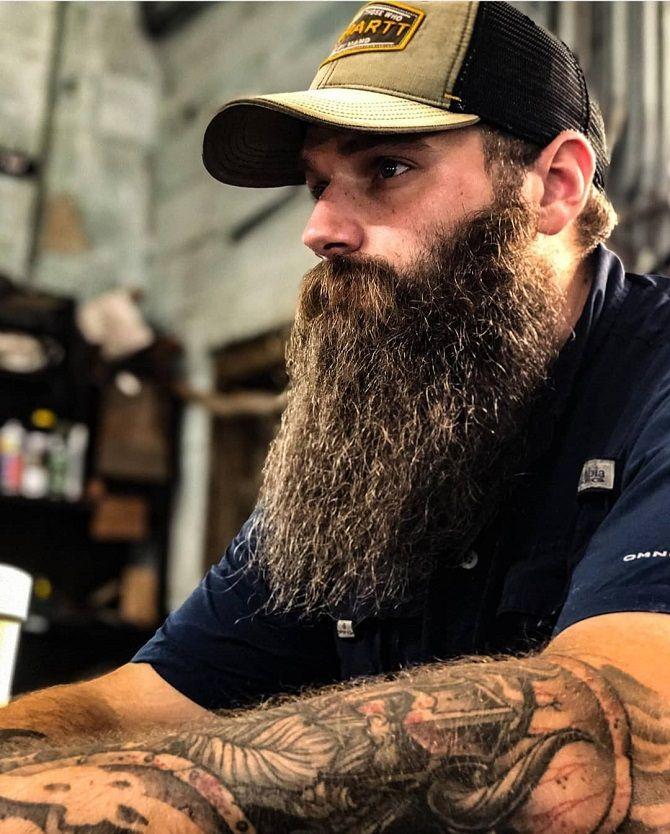 бородатий чоловік