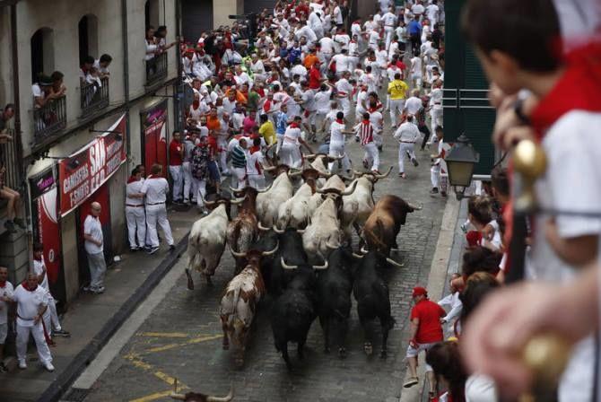 Бег быков, Испания