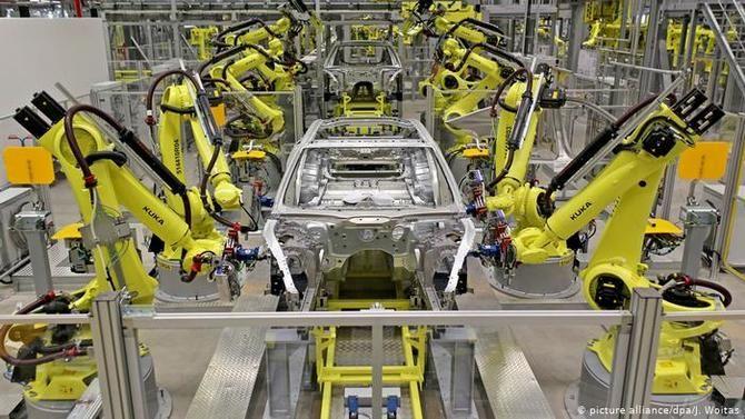 Роботы-манипуляторы для заводских работ