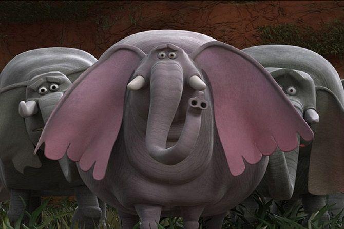 Мультфильм  Король Слон