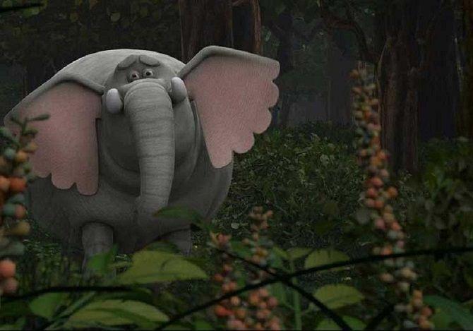 Мультфильм  для детей Король Слон
