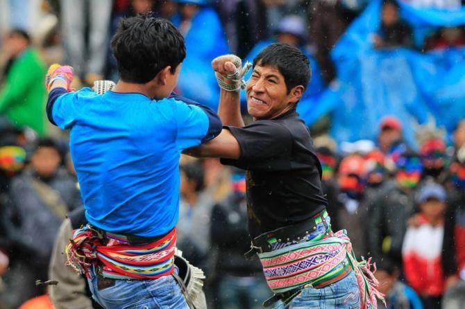 фестиваля Таканакуй Перу