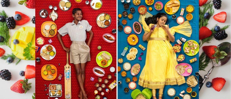 «Хлеб насущный» — яркий фотопроект о том, чем питаются дети по всему миру