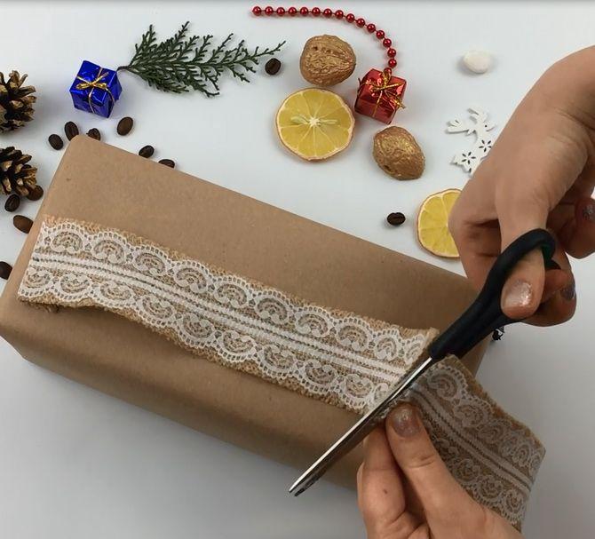 лайфхак Как упаковать подарок