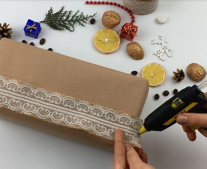 Как упаковать подарок на Новый год лайфхаки