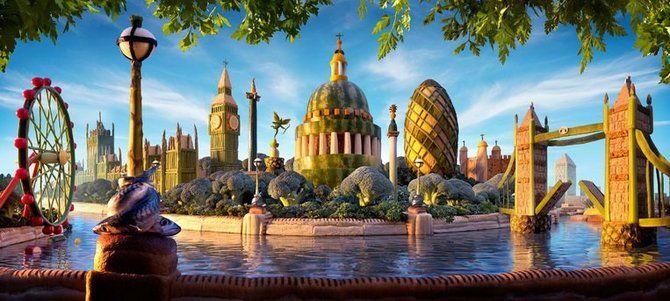 съедобная картина Лондонский горизонт