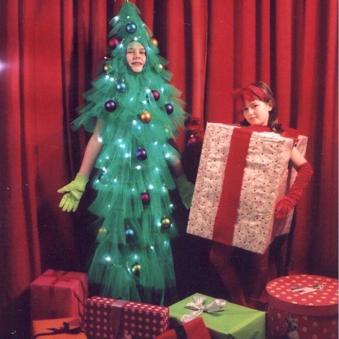 смешные новогодние костюмы