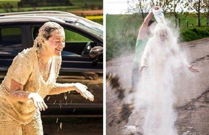 Свадебное чернение невесты