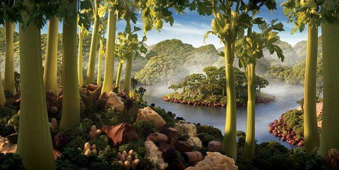 картина Остров сельдерея карла уорнера