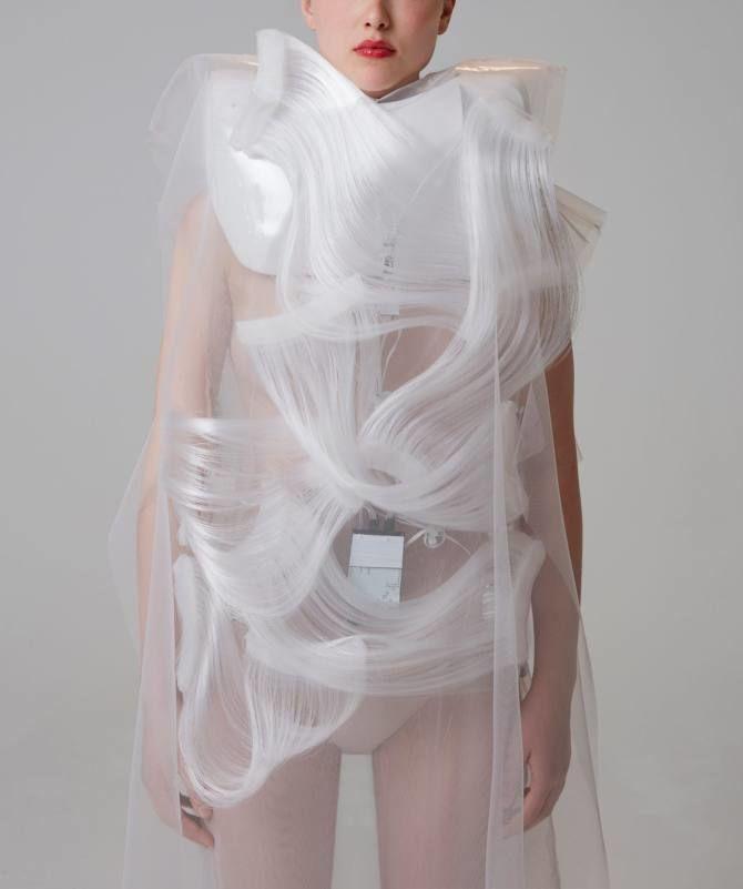 платья Плавная вод от Йин Гао