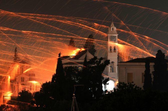 Ракетна війна, Греція