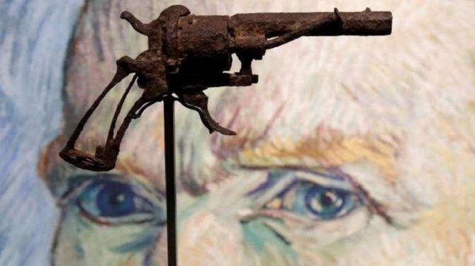 Револьвер, з якого застрелився Ван Гог