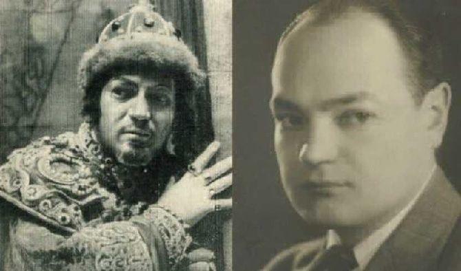 актер Н. Хмелев