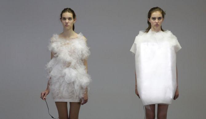 платья от дизайнера Йин Гао