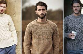 мужские свитера зима