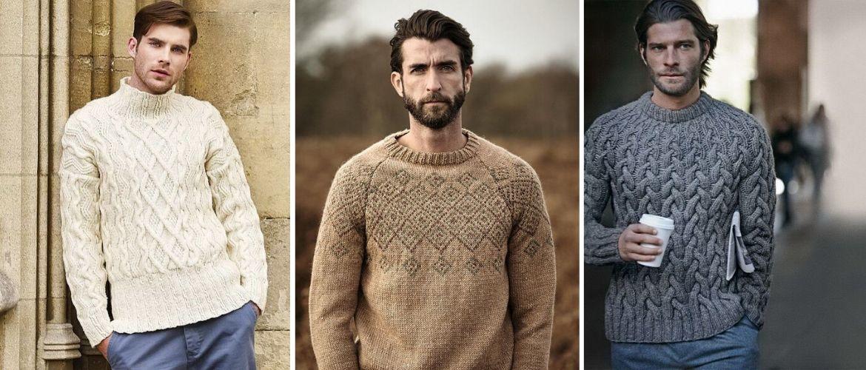 Модні чоловічі светри зима 2020-2021: добірка кращих моделей сезону