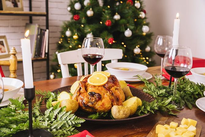 Что подают на стол в Рождество
