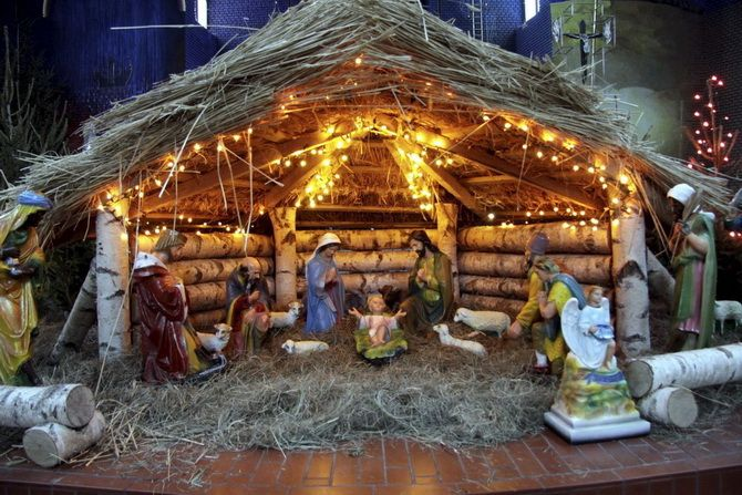 Рождественский вертеп история