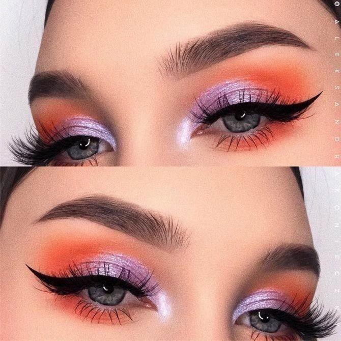 helles Augen Make-up  2020