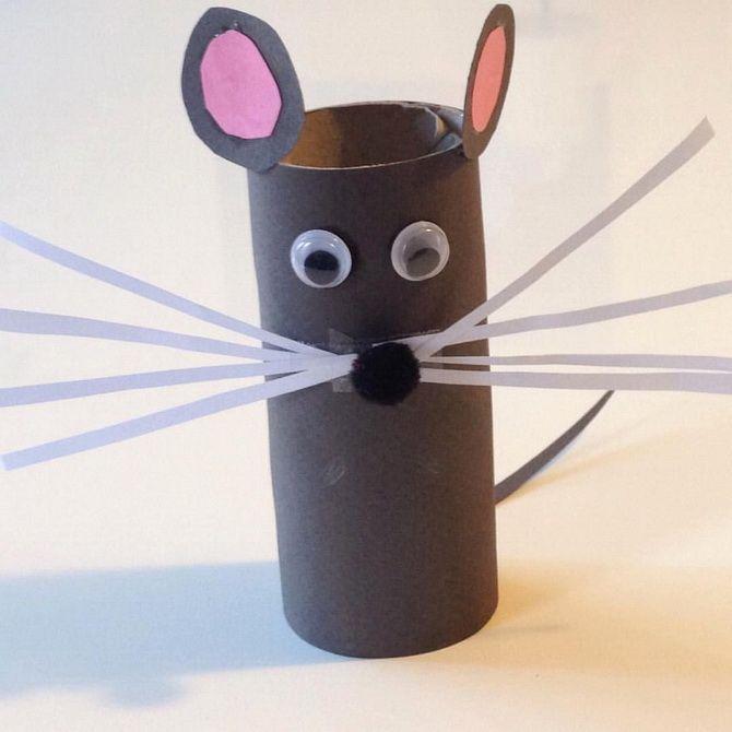 Поделка крыса своими руками: мастерим новогодний талисман 2020 9