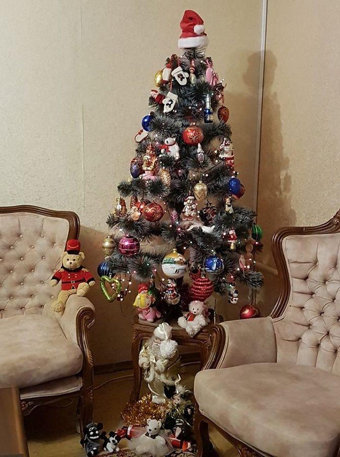 новогодняя елка 2020