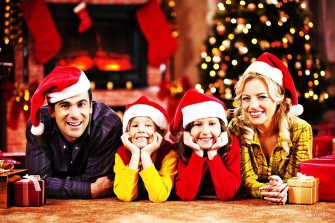 сімейні образи для новорічної фотосесії 2020