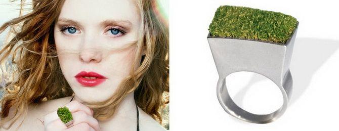 перстень с травой