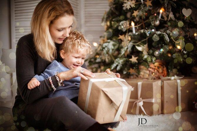 образи для новорічної фотосесії 2020 мама та син