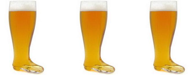 келих для пива у вигляді чобота
