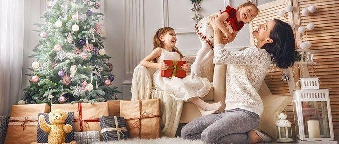образи для новорічної фотосесії мама і дочки