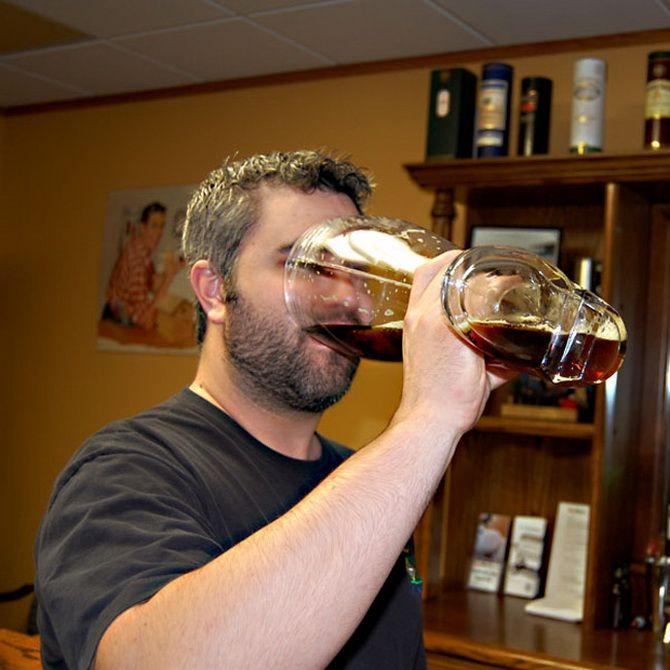 бокал для пива в виде сапога