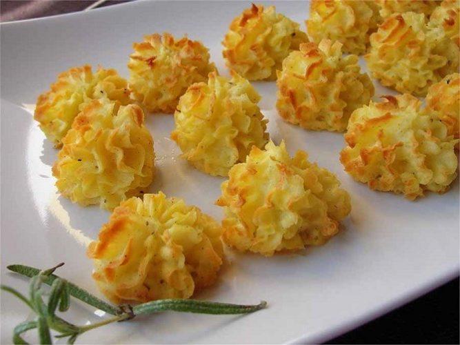Основные новогодние блюда из картофеля