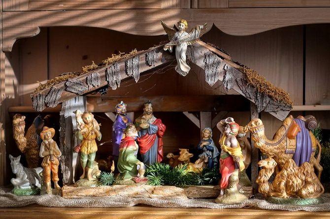 рождественский вертеп +своими руками